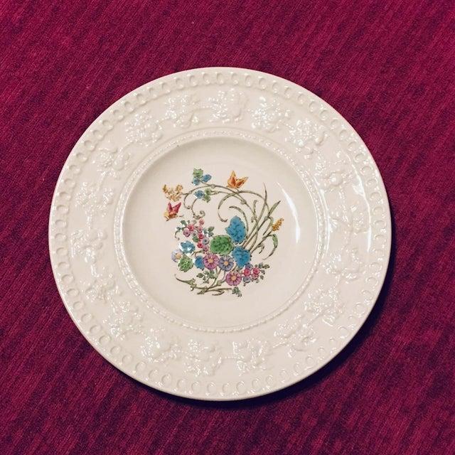 1940s Vintage Wedgwood Montreal Bone China Tea Set of 12 For Sale - Image 10 of 13