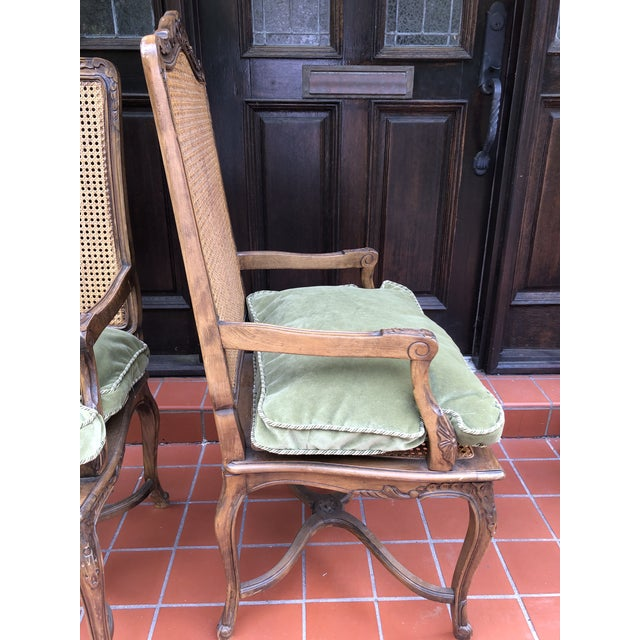 French Caned Chairs - a Pair For Sale In Tampa - Image 6 of 12