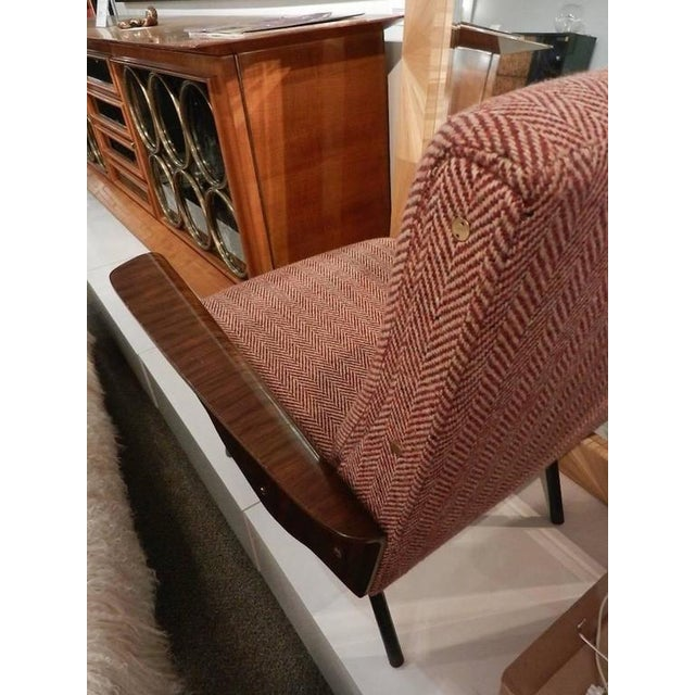 Mid-Century Osvaldo Borsani Model D72 Club Chair For Sale - Image 9 of 10
