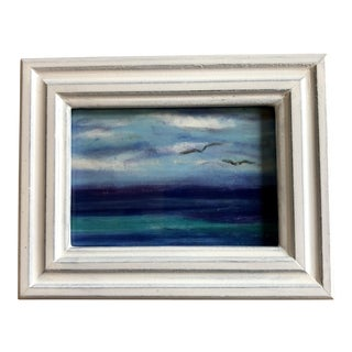 "Final Price! Nancy Smith ""Fly Away"" Original Pastel Miniature Painting For Sale"