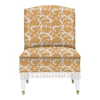 LuRu Home for Casa Cosima Sintra Chair, Flower, Cumin For Sale