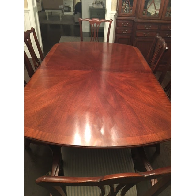 Drexel Heritage Mahogany Collectors Dining Room Set Chairish