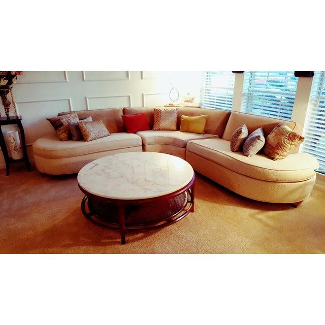 Elegant Mid Century Sofa - Image 6 of 7