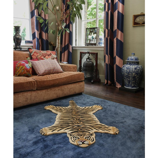 Doing Goods Drowsy Tiger Rug Large For Sale - Image 4 of 6