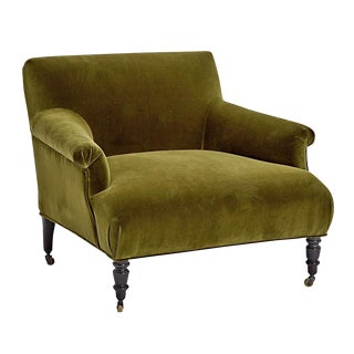 Reupholstered French Armchair in Napoleon Iii Style Circa 19th Century