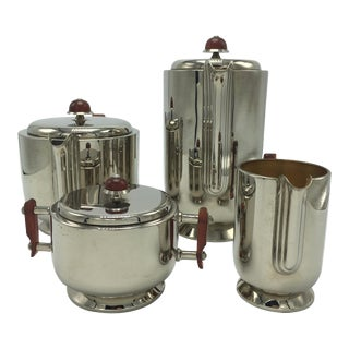 Württembergische Metallwarenfabrik (Wmf) Silver-Plated Tea & Coffee Service - Set of 4