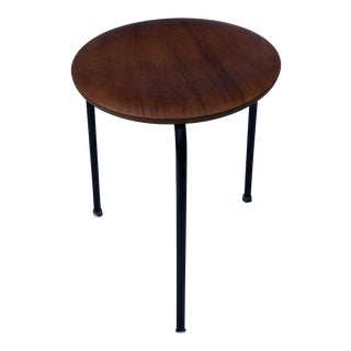 1950s Mid Century Modern Danish Arne Jacobson for Fritz Hansen Dot Stool For Sale