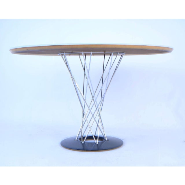 Metal Noguchi Cyclone Table for Knoll, USA, 1960s For Sale - Image 7 of 7