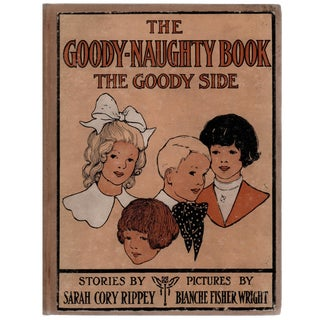 """1913 """"Goody-Naughty Book: The Naughty Side"""" Book"""