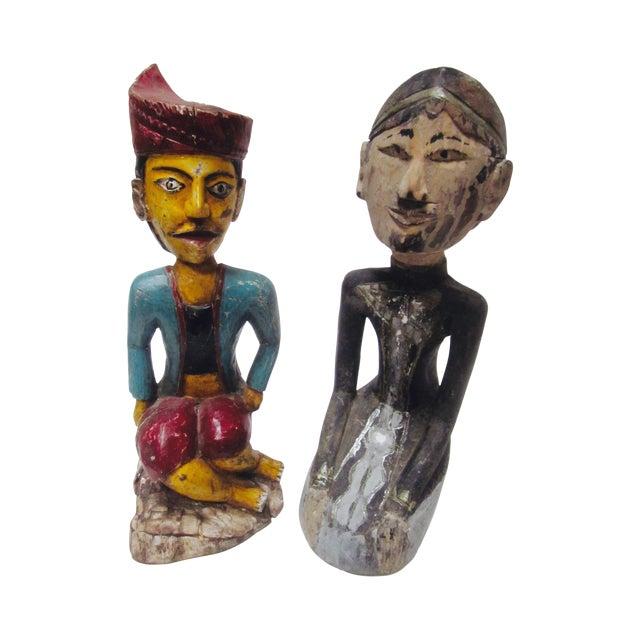 Global Boho Pair Statues - Pair - Image 1 of 9