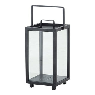 Cane-Line Lighthouse Lantern, Small, Lava Gray For Sale