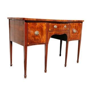 George III Mahogany Sideboard For Sale