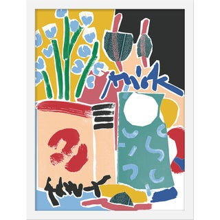 "Medium ""Still Life With Jug"" Print by Katy Welsh, 16"" X 21"" For Sale"