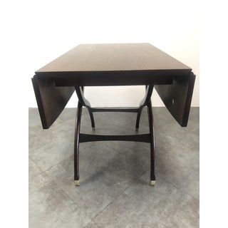 1940s Mid-Century Modern Sligh Lowry Walnut Convertible Coffee to Tea Table Preview