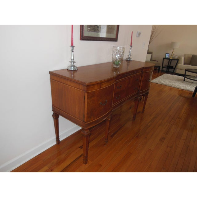 1930's Myrtlewood Buffet (2 of 3) For Sale In Chicago - Image 6 of 11