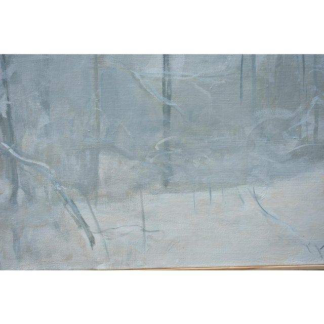 """Stephen Remick Stephen Remick """"Finding the Way Home in a Storm"""" Contemporary Painting For Sale - Image 4 of 10"""