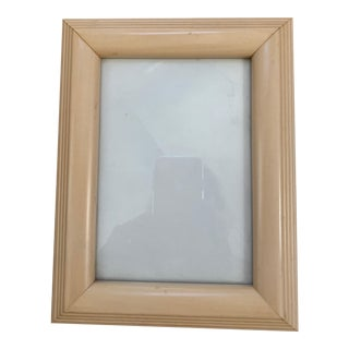 1990s Cream Picture Frame For Sale
