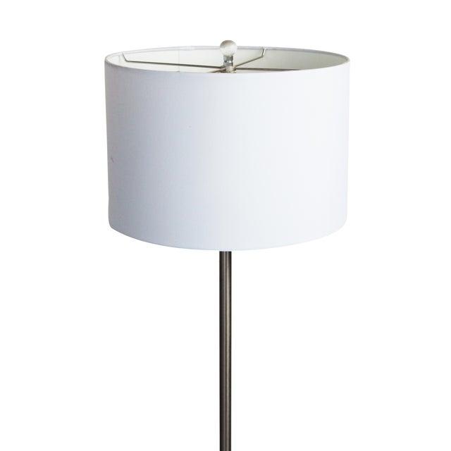 Laurel Tulip Floor Lamp in Silver For Sale - Image 6 of 7