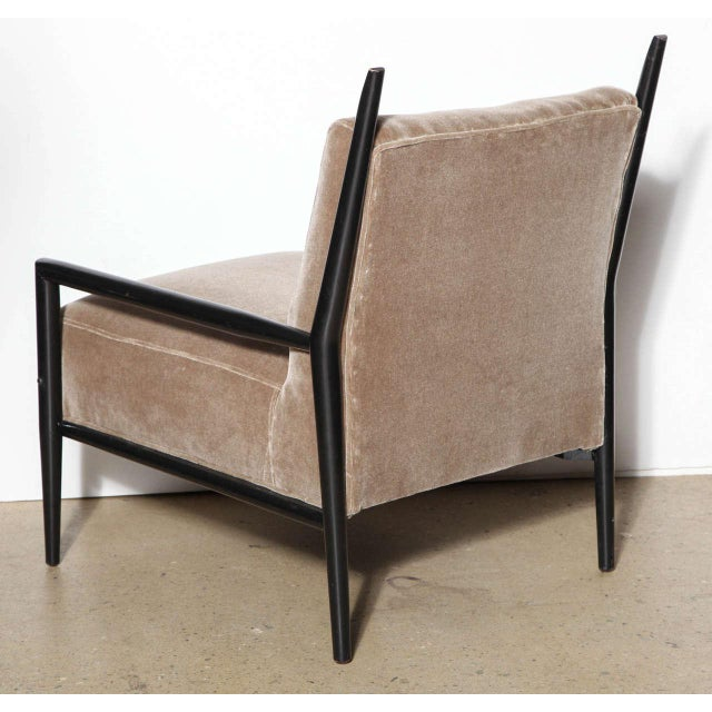 1950s Vintage Paul McCobb 3082-E Planner Group Ebonized Lounge Chair For Sale - Image 9 of 12
