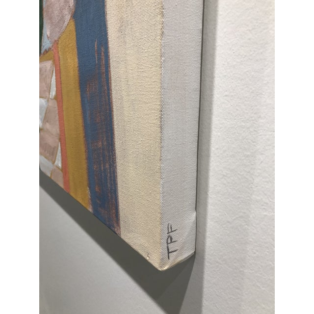 Amongst the Chaos, Contemporary Interior Painting by Taelor Fisher For Sale - Image 6 of 6