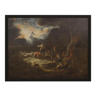 Annunciation to the Shepherds Baroque Painting For Sale