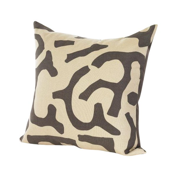 Chocolate and Wheat Pillow - Image 1 of 3