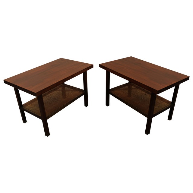 E. Paul Browning Mid-Century Side Tables - A Pair - Image 1 of 11