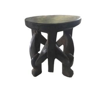 Makonde Three-Legged Stool/ Table Tanzania