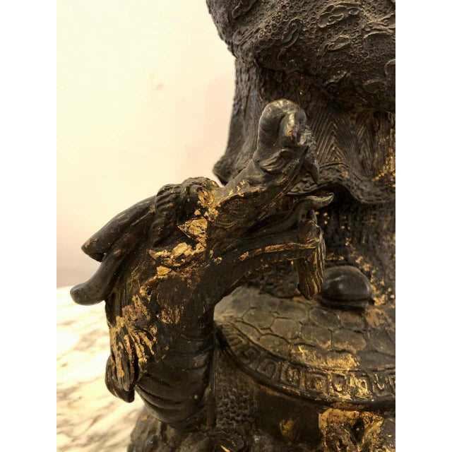 18th-19th Century Figure One of the Three Gods of Good Fortune For Sale - Image 10 of 13