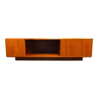 Danish Mid Century Modern Teak Coffee Table/Tv Stand For Sale
