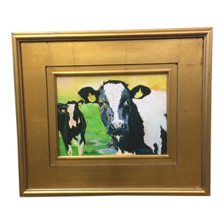 Contemporary Cow Painting
