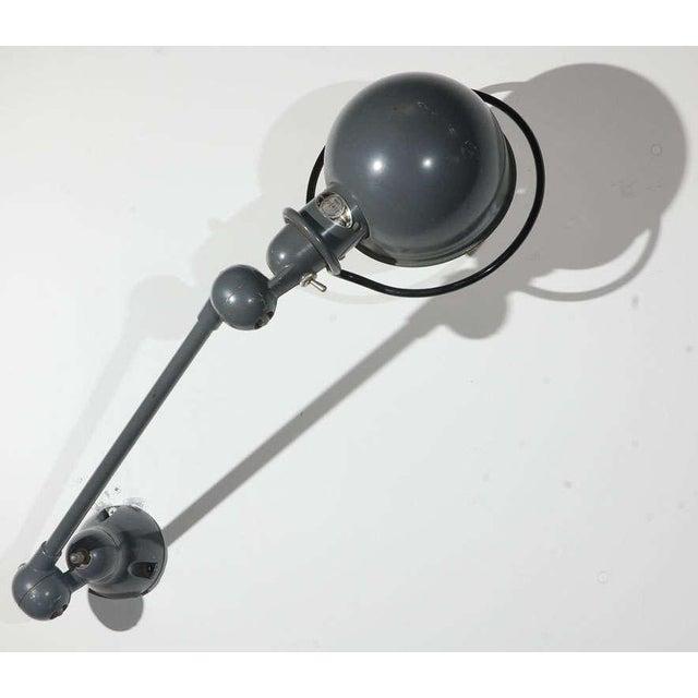 Vintage Jielde Factory French Industrial Metal Lamp For Sale - Image 10 of 10