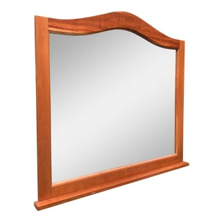 Solid Cherry Dresser Mirror For Sale