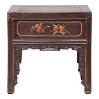 19th Century Chinese Goddess Side Table For Sale