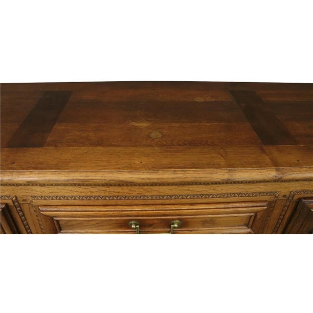 Sideboard Normandy Antique French 1890 Carved For Sale - Image 9 of 11
