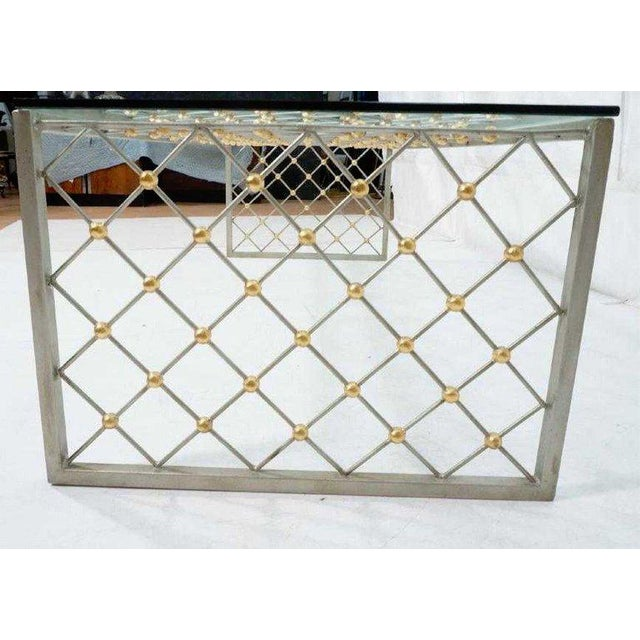"""Metal """"Tour Eiffel"""" Coffee Table After Jean Royere For Sale - Image 7 of 9"""