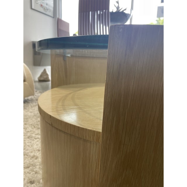 1980s Jay Specter Signed Round Side Tables - a Pair For Sale In Miami - Image 6 of 11
