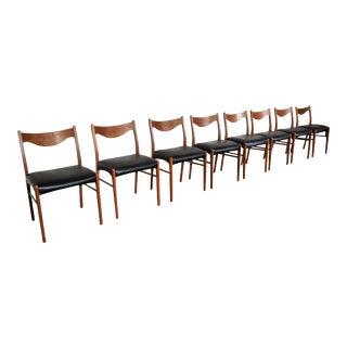 8 Danish Modern Arne Wahl Iversen - Glyngøre Stolefabrik For Sale