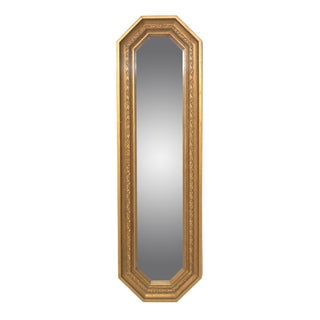 Vintage Octagonal Mirror by Homco For Sale