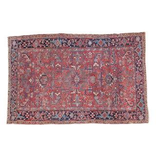 "Vintage Heriz Carpet - 6'1"" X 9'4"" For Sale"