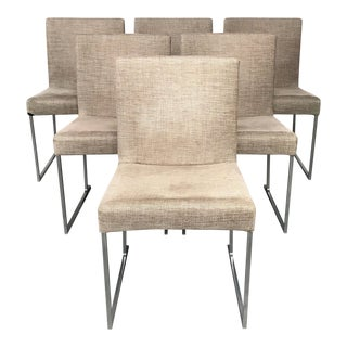 B&B Italia 'Solo' Dining Chair by Antonio Citterio - Set of 6 For Sale