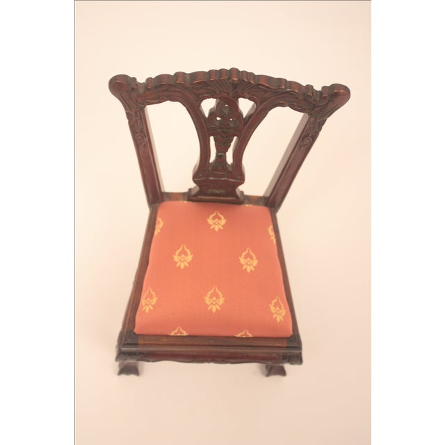 Chippendale-Style Doll Chair - Image 7 of 7