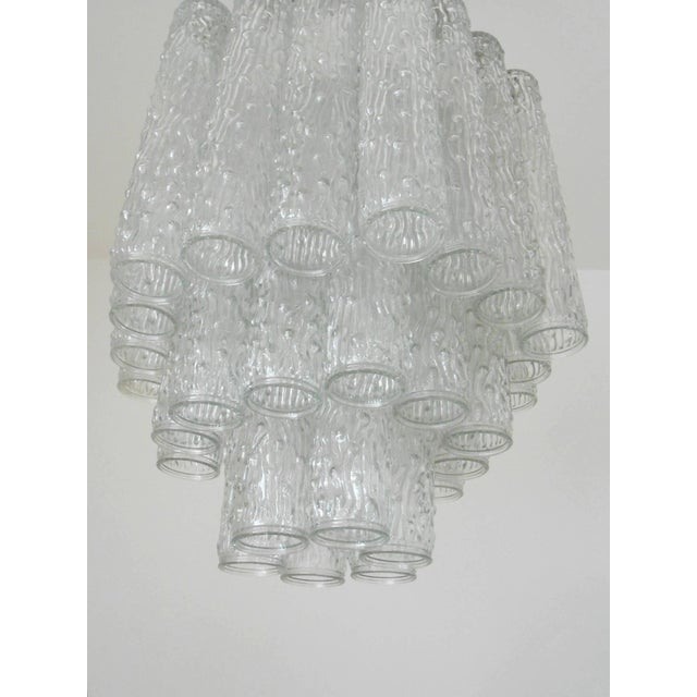 Venini Corteccia Chandelier by Venini For Sale - Image 4 of 7