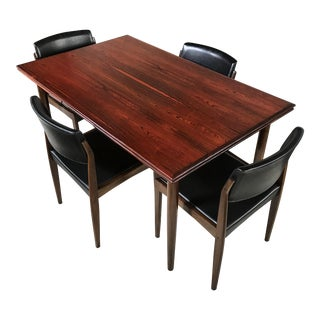 H. W. Klein for Bramin Danish Rosewood Dining Set - Set of 5