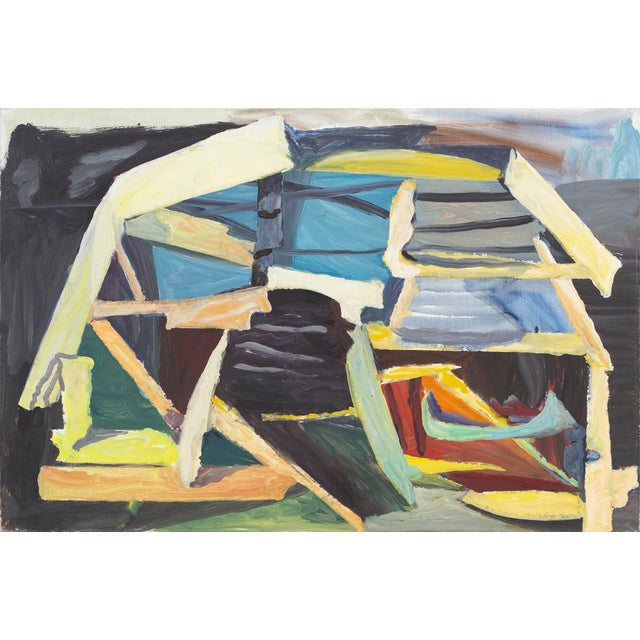 "Blue William Eckhardt Kohler, ""For the Moon"" For Sale - Image 8 of 8"