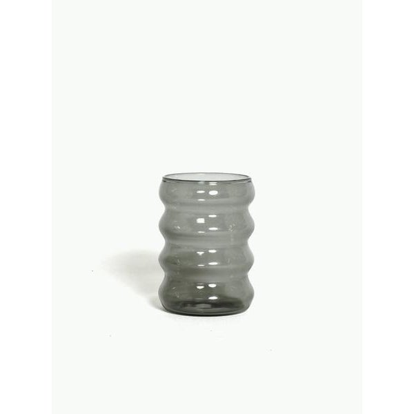 Contemporary Ripple Cup in Smoke For Sale - Image 3 of 3