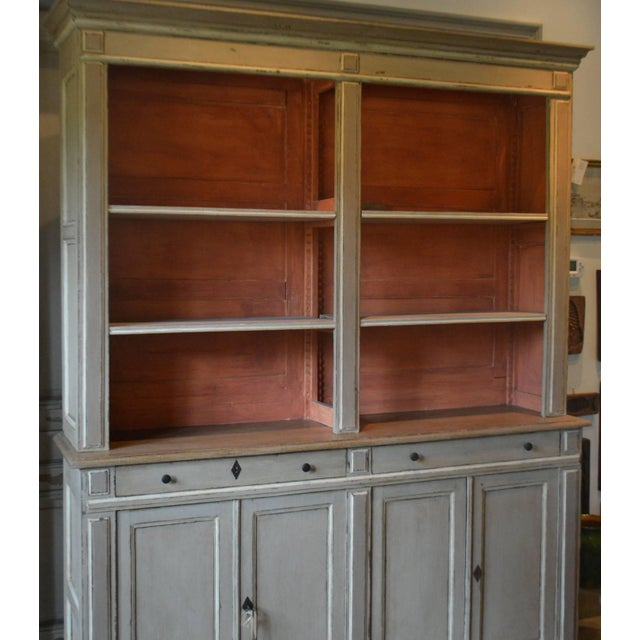 French Provincial Directoire Style Bibliotheque For Sale - Image 3 of 11