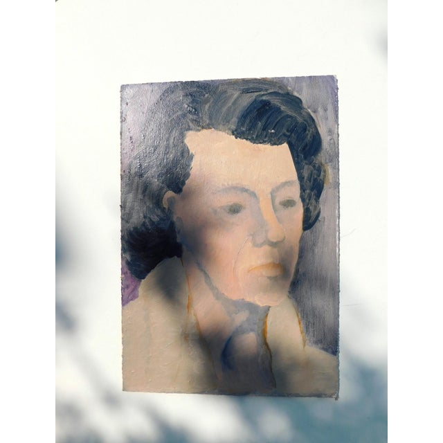 Belle Grandmère Original Painting For Sale In San Francisco - Image 6 of 6