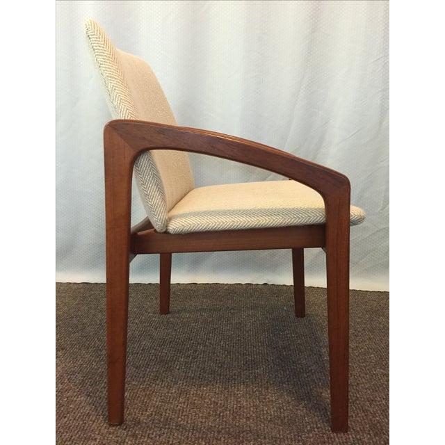 Kai Kristiansen Dining Chairs - Set of 4 - Image 4 of 10