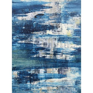 Original Abstract Coastal Painting For Sale